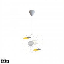 Desenli Balonlar ve Renkli Bulutlar Erkek Çocuk  Avize-CA213