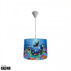 Balık ve Renkli Deniz Altı Erkek Çocuk  Avize-CA240