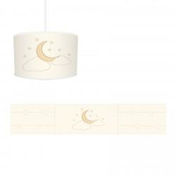Ay, Bulut ve Yıldızlar Erkek Çocuk Odası  Avize-CA271