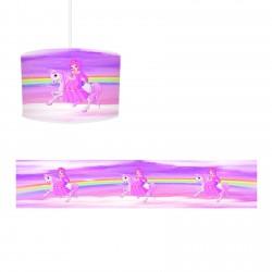 Atlı Gökkuşağı Kız Çocuk Odası  Avize-CA513