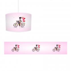 Bisikletli Prenses Kız Çocuk Odası Avize-CA530