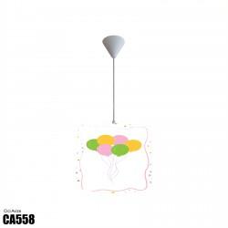 Renkli Uçan Balonlar Kız Çocuk Odası Avize-CA558