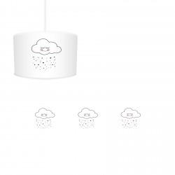 Pembe Yanaklı Sevimli Bulut Kız Çocuk  Avize-CA620