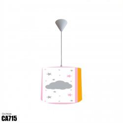 Mor Seksek ve Süs Eşyaları Kız Çocuk  Avize-CA715
