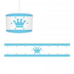 Mavi Kral Taclı Çocuk  Avize-CA73
