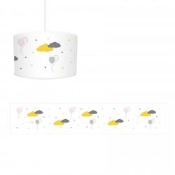 Bulutlar ve Balonlar Kız Çocuk Odası Avize-CA743
