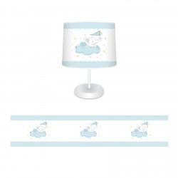 Bulut Üstünde Fil Erkek Çocuk  Abajur-CAJ144