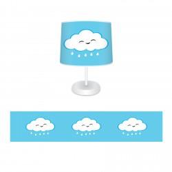 Mavi Bulutlu Bebek  Abajur-CAJ78