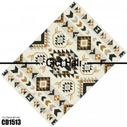 Açık Desen Kahve Tonlu Kilim Desenli Dekoratif Halısı-CD1513