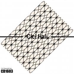 Açık Zemin Hipnoz Desen  Halısı-CD1603