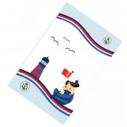 Denizci Temalı Sevimli Erkek Çocuk  Halısı-CE103