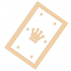 Altı Yıldız ve Taç Erkek Çocuk  Halısı-CE115