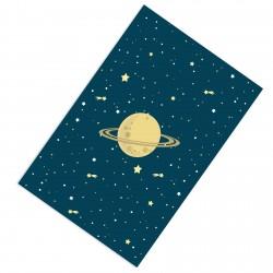 Kayan yıldızlar ve Satürn Erkek Çocuk  Halısı-CE196