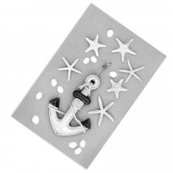 Deniz Yıldızları ve Deniz Teması Erkek Çocuk  Halısı-CE209