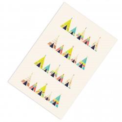 Renkli Çadırlar Erkek Çocuk Odası Halısı-CE210