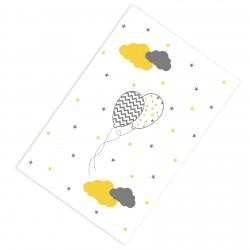 Desenli Balonlar ve Renkli Bulutlar Erkek Çocuk  Halısı-CE213