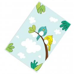 Ağaç Bulut ve Kuşlar Erkek Çocuk  Halısı-CE220