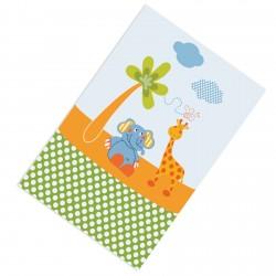 Ağaç Fil Zürafa ve Kelebek Erkek Çocuk  Halısı-CE230