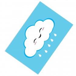 Mavi Bulutlu Bebek  Halısı-CE78