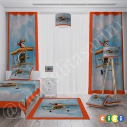 Gökyüzü Uçan Çocuk Erkek Çocuk  Halısı-CE326