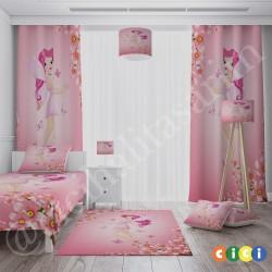 Çiçek ve Prenses Kız Çocuk Odası Avize-CA509