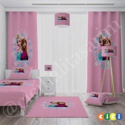 Çizgi Prensesler Kız Çocuk  Halısı-CK590