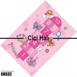 Sek Sek Kız Çocuk Odası  Halısı-CK532