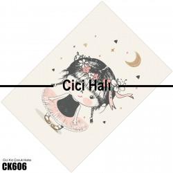 Dans Eden Çizgi Karakter Kız Çocuk  Halısı-CK606