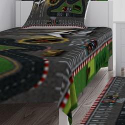 Çocuk Oyun Halısı Hotwheels ve Need For Speed Temalı  Yatak Örtüsü-CYO100