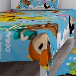 Çizgi Karakterler Erkek Çocuk  Yatak Örtüsü-CYO126