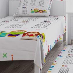 Çarpım Tablosu Erkek Çocuk  Yatak Örtüsü-CYO195