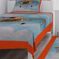Gökyüzü Uçan Çocuk Erkek Çocuk  Yatak Örtüsü-CYO326