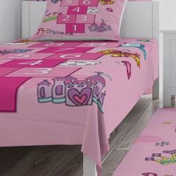Sek Sek Kız Çocuk Odası  Yatak Örtüsü-CYO532