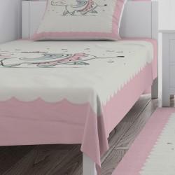 Balerin Fil Kız Çocuk  Yatak Örtüsü-CYO605
