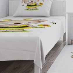 Arı Kostüm Minik Ayı Kız Çocuk  Yatak Örtüsü-CYO691