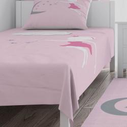 Ay Dede ve Peri Kızı Kız Çocuk Odası Yatak Örtüsü-CYO729