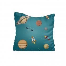 Gezegenler ve Uzay Roketleri Erkek Çocuk  Kırlent-KIR238