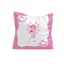 Kenar Çerçeveli Prenses Kız Çocuk Odası Kırlent-KIR540