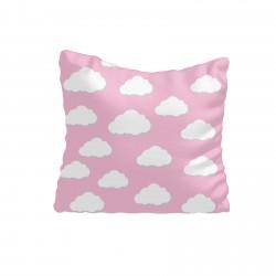 Pembe Zemin ve Bulutlar Kız Çocuk Odası Kırlent-KIR574