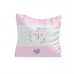 Çiçekler ve Kelebek Kız Çocuk  Kırlent-KIR613