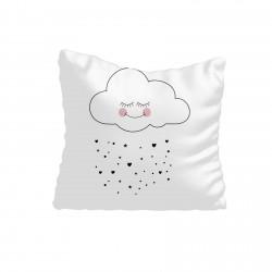 Pembe Yanaklı Sevimli Bulut Kız Çocuk  Kırlent-KIR620