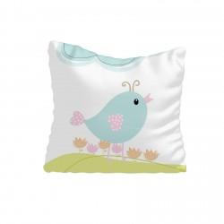 Mavi Kuş ve Bulut Kız Çocuk  Kırlent-KIR634