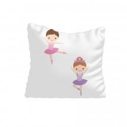Balerin Kızlar ve Seksek Kız Çocuk Odası Kırlent-KIR712