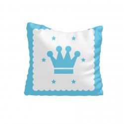 Mavi Kral Taclı Çocuk  Kırlent-KIR73